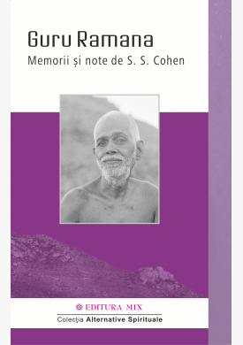 "Coperta 1 a cărții ""Guru Ramana. Memorii și note"""