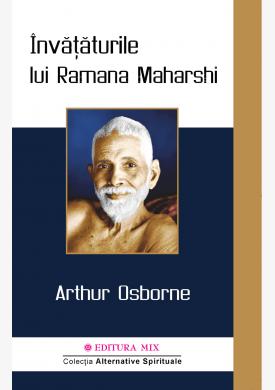 """Coperta 1 a cărții """"Învățăturile lui Ramana Maharshi"""""""