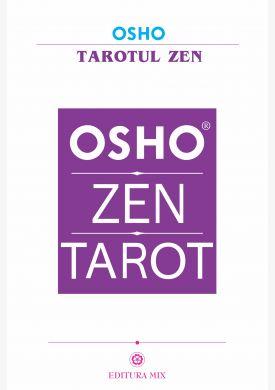 """Coperta 1 a setului """"Tarotul Zen"""" (include cartea, plus pachetul de cărți de tarot)"""