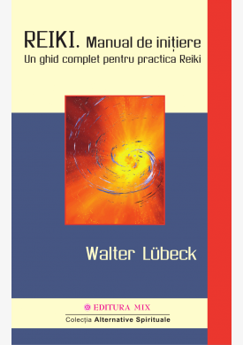 "Coperta 1 a cărții ""Reiki. Manual de inițiere"""