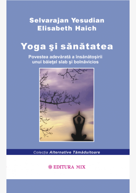 """Coperta 1 a cărții """"Yoga și sănătatea"""""""