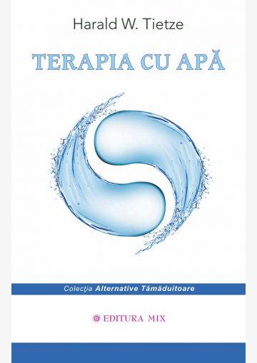 """Coperta 1 a cărții """"Terapia cu apă"""""""