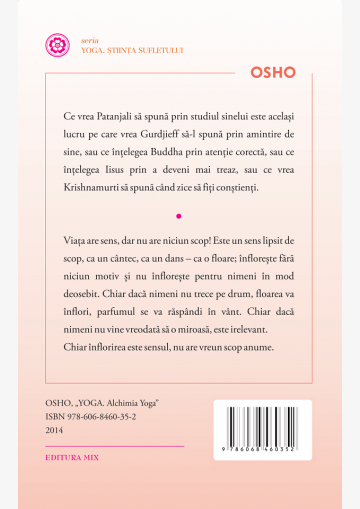 Coperta 4 a cărții Alchimia Yoga