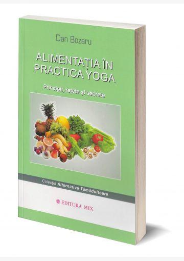 Coperta 3D a cărții Alimentația în practica yoga