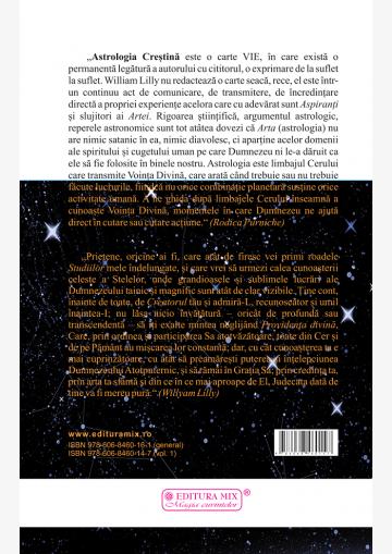 Coperta 4 a cărții Astrologie Creștină (vol.1)