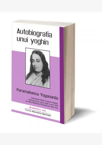 Coperta 3D a cărții Autobiografia unui yoghin