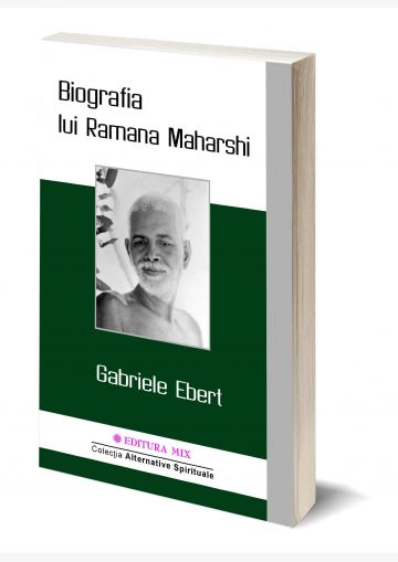 Coperta 3D a cărții Biografia lui Ramana Maharshi