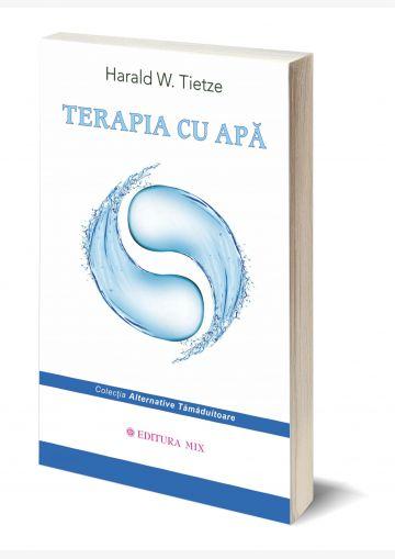 """Coperta 3D a cărții """"Terapia cu apă"""""""