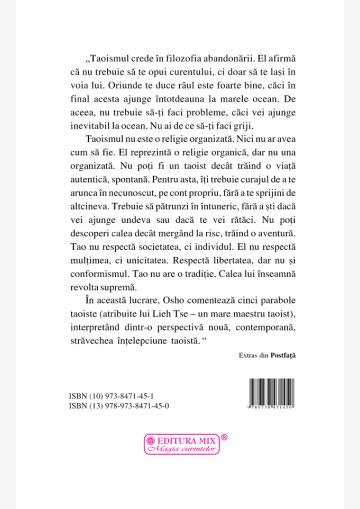 Cartea despre Tao - Coperta 4