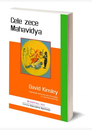 Coperta 3D a cărții Cele zece Mahavidya