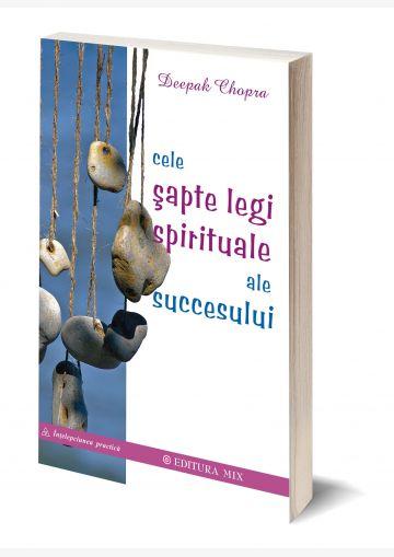 Coperta 3D a cărții Cele șapte legi spirituale ale succesului