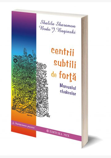 Coperta 3D a cărții Centrii subtili de forță