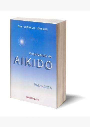 "Coperta 3D a cărții ""Enciclopedia de Aikido - Vol.1"""