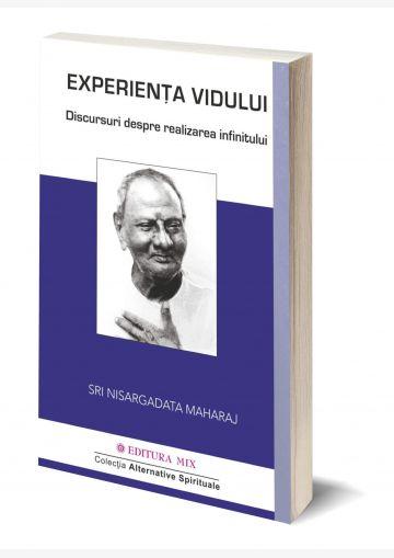 """Coperta 3D a cărții """"Experiența vidului. Conversații despre realizarea infinitului"""""""