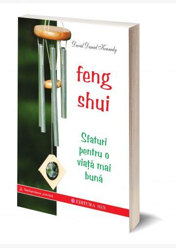 """Coperta 3D a cărții """"Feng Shui. Sfaturi pentru o viață mai bună"""""""