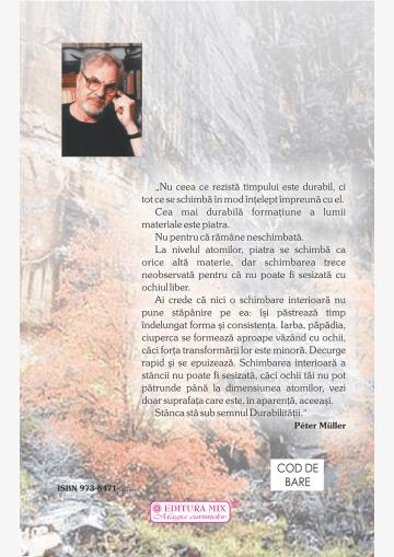 """Coperta 4 a cărții """"Frunziș și rădăcină"""""""
