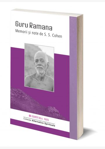 "Coperta 3D a cărții ""Guru Ramana. Memorii și note"""