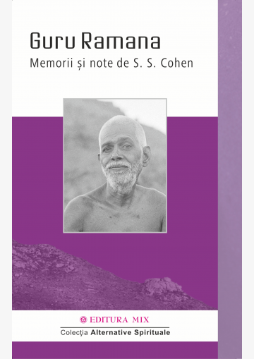 "Coperta 1 a cărții ""Guru Ramana. Memorii și note"""