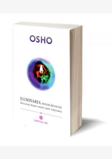"""Coperta 3D a cărții """"Iluminarea, singura revoluție"""""""