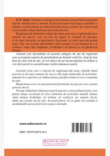 """Coperta 4 a cărții """"In căutarea excelenței"""""""