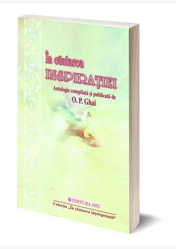 """Coperta 3D a cărții """"În căutarea inspirației"""""""