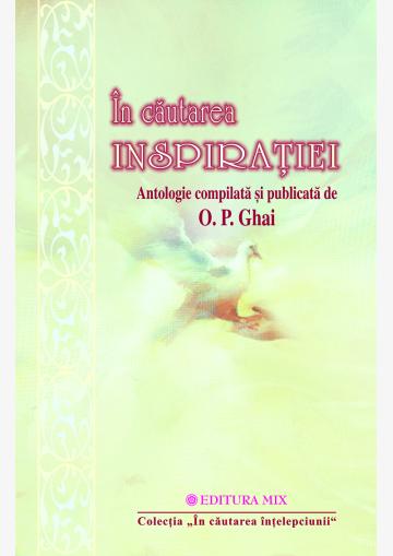 """Coperta 1 a cărții """"În căutarea inspirației"""""""