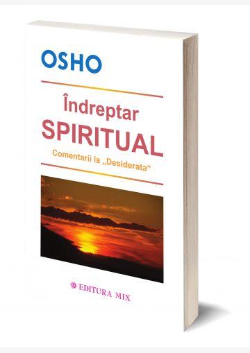"""Coperta 3D a cărții """"Îndreptar spiritual"""""""