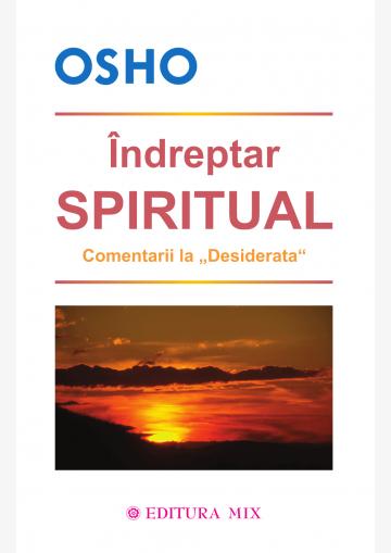 """Coperta 1 a cărții """"Îndreptar spiritual"""""""
