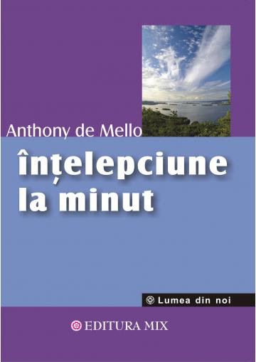 """Coperta 1 a cărții """"Înțelepciune la minut"""""""