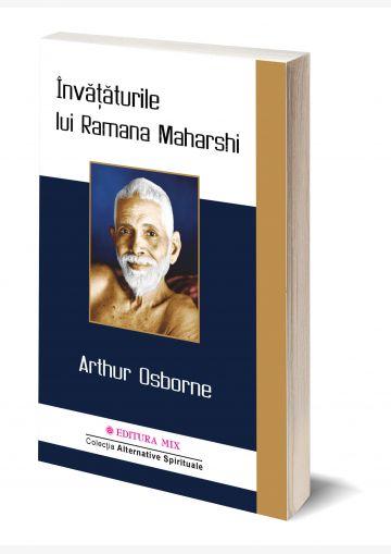 """Coperta 3D a cărții """"Învățăturile lui Ramana Maharshi"""""""