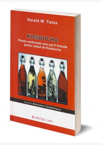 """Coperta 3D a cărții """"Kombucha. Plante medicinale"""""""