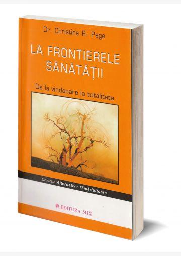 """Coperta 3D a cărții """"La frontierele sănatății"""""""