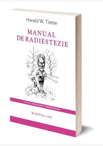 """Coperta 3D a cărții """"Manual de radiestezie"""""""