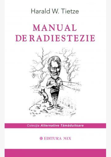 """Coperta 1 a cărții """"Manual de radiestezie"""""""