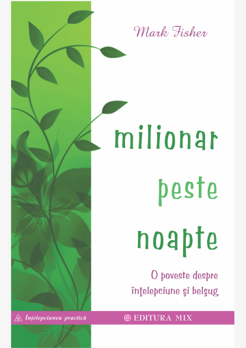 """Coperta 1 a cărții """"Milionar peste noapte"""""""
