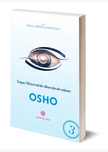 """Coperta 3D a cărții """"Yoga. Misterul de dincolo de minte"""""""
