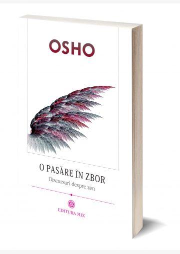 """Coperta 3D a cărții """"O pasăre în zbor. Discursuri despre zen"""""""