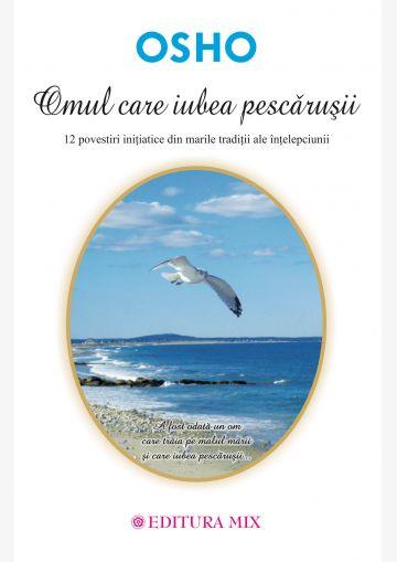 """Coperta 1 a cărții """"Omul care iubea pescărușii"""""""