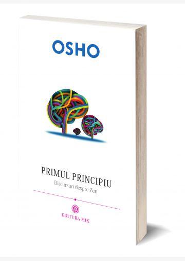 """Coperta 3D a cărții """"Primul principiu. Discursuri despre zen"""""""
