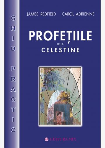 """Coperta 1 a cărții """"Profețiile de la Celestine - ghid practic"""""""
