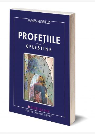 """Coperta 3D a cărții """"Profețiile de la Celestine"""""""