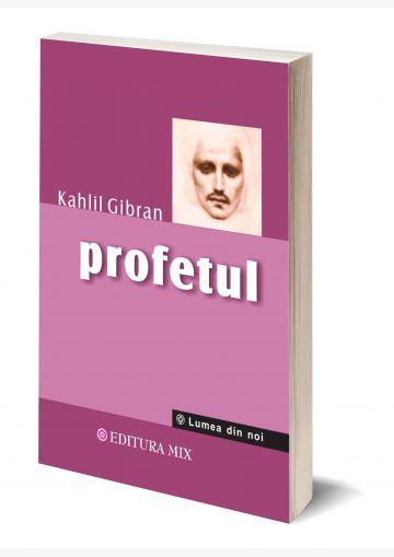 """Coperta 3D a cărții """"Profetul"""""""