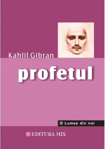 """Coperta 1 a cărții """"Profetul"""""""