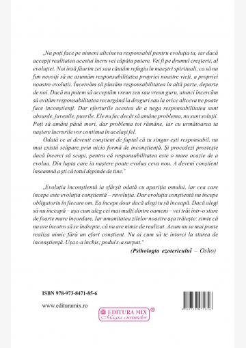 """Coperta 4 a cărții """"Psihologia ezotericului"""""""