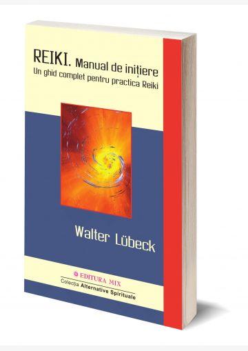 """Coperta 3D a cărții """"Reiki. Manual de inițiere"""""""