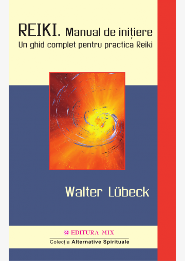 """Coperta 1 a cărții """"Reiki. Manual de inițiere"""""""