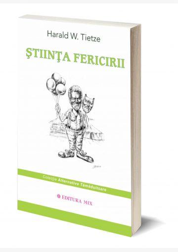 """Coperta 3D a cărții """"Știința fericirii"""""""