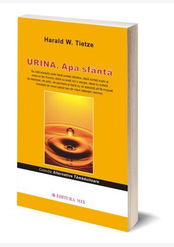 """Coperta 3D a cărții """"Urina. Apa sfântă"""""""