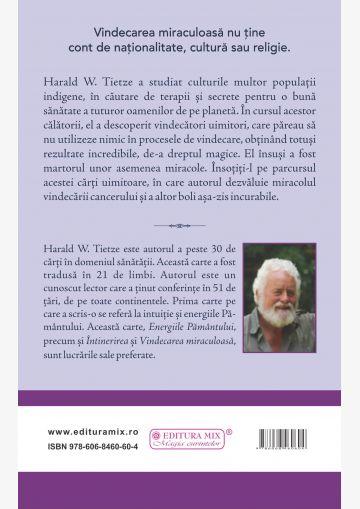 """Coperta 4 a cărții """"Vindecarea miraculoasă"""""""