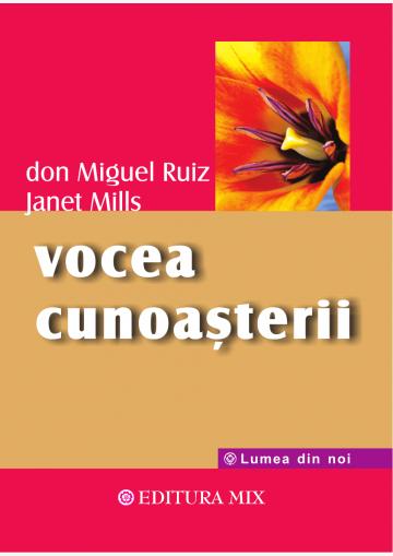 """Coperta 1 a cărții """"Vocea cunoașterii"""""""